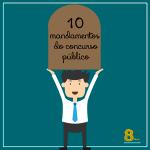 10 mandamentos do Concurso Público