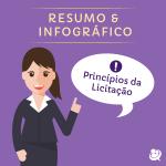 Resumo & Infográfico: Princípios da Licitação