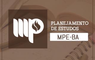 concurso MPE BA 2017