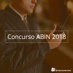 Como estudar para o concurso da Abin 2018