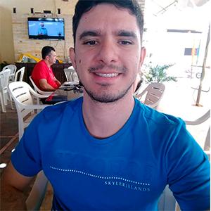 João Vicente Oliveira aprovado em concurso