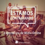 Imagem: Qconcursos.com contrata para área de Marketing