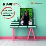 Imagem Eliane resolveu 100 questões por dia e em 8 meses conseguiu sua aprovação