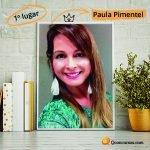 Imagem Mesmo diante de todos os desafios, Paula conquistou o 1º lugar