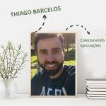 A fama de mau estudante não atrapalhou a aprovação de Thiago Barcelos