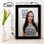 Imagem Danielle conseguiu a aprovação e novas amizades