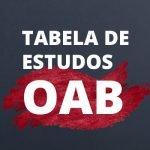 Plano de estudos para o Exame da OAB – Saiba como se planejar